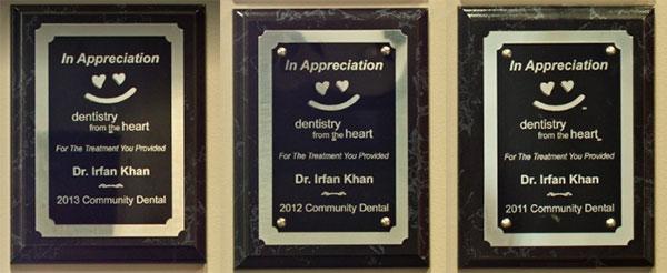 Appreciation of Dr. Khan