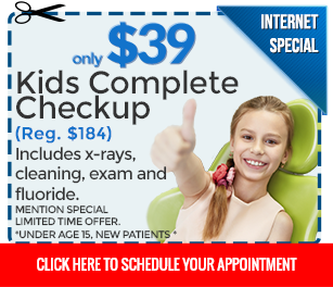 Kids Dental Exam Special
